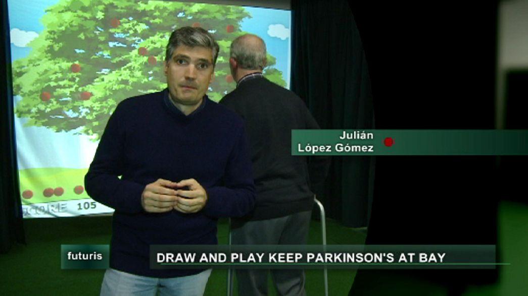 Canetas e videojogos contra a doença de Parkinson