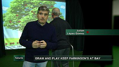 Bolígrafos y videojuegos contra la enfermedad de Parkinson