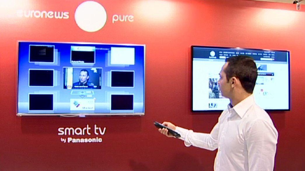 Ein Besuch auf dem Handeslplatz der Welt für TV-Programme