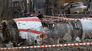بعد عامين : غموض تام في حادثة تحطم طائرة الرئيس البولندي