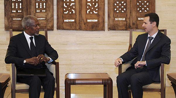 El plan de paz de Kofi Annan para Siria