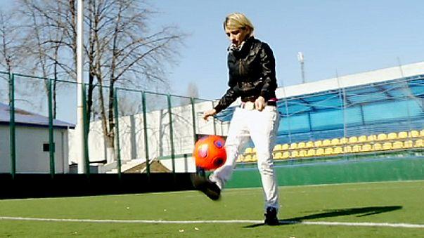 Euro 2012, il calcio in Ucraina di donne e bambini