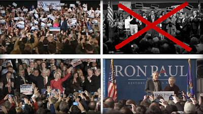 Santorum out, Romney up