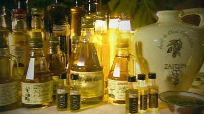 Geschockte Oliven geben besseres Öl