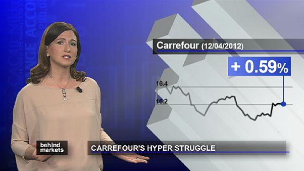 Carrefour in difficoltà sui mercati