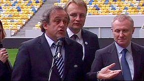Euro 2012: Platini slams 'bandits'