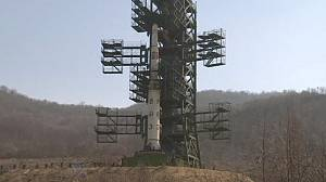 Controversial North Korean rocket launch ends in failure