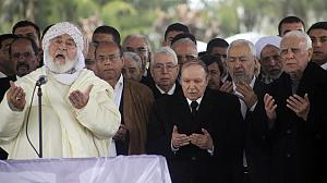 Algeria's first president buried in Martyrs' Corner