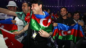 Cheers and tears for Azerbaijan's Crystal Hall