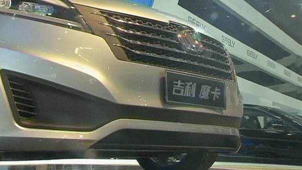 Going for growth at Beijing car show