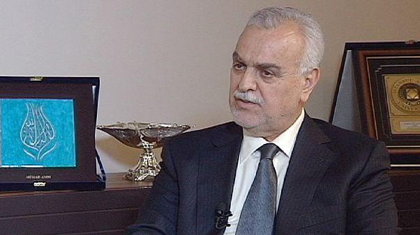 Tariq al-Hashimi, Iraqi Vice-President: 'Iran is behind sectarian strife'
