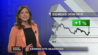 Siemens, con el viento en contra