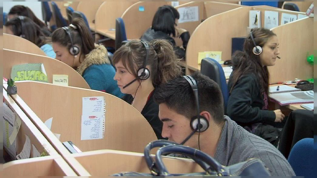 """L'Espagne en crise et ses jeunes """"nimileuristas"""""""