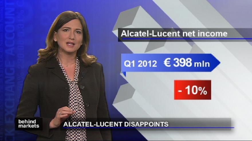 Il tonfo in borsa di Alcatel-Lucent