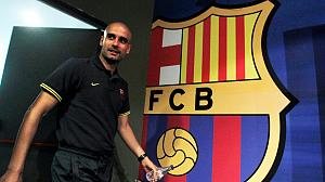 Barca coach Guardiola quits