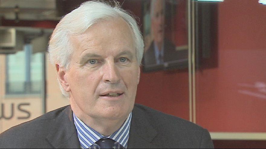 """Michel Barnier a Euronews: """"Le banche devono pagare per le banche"""""""