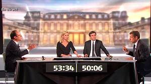 Sarkozy fails to score against Hollande in TV duel