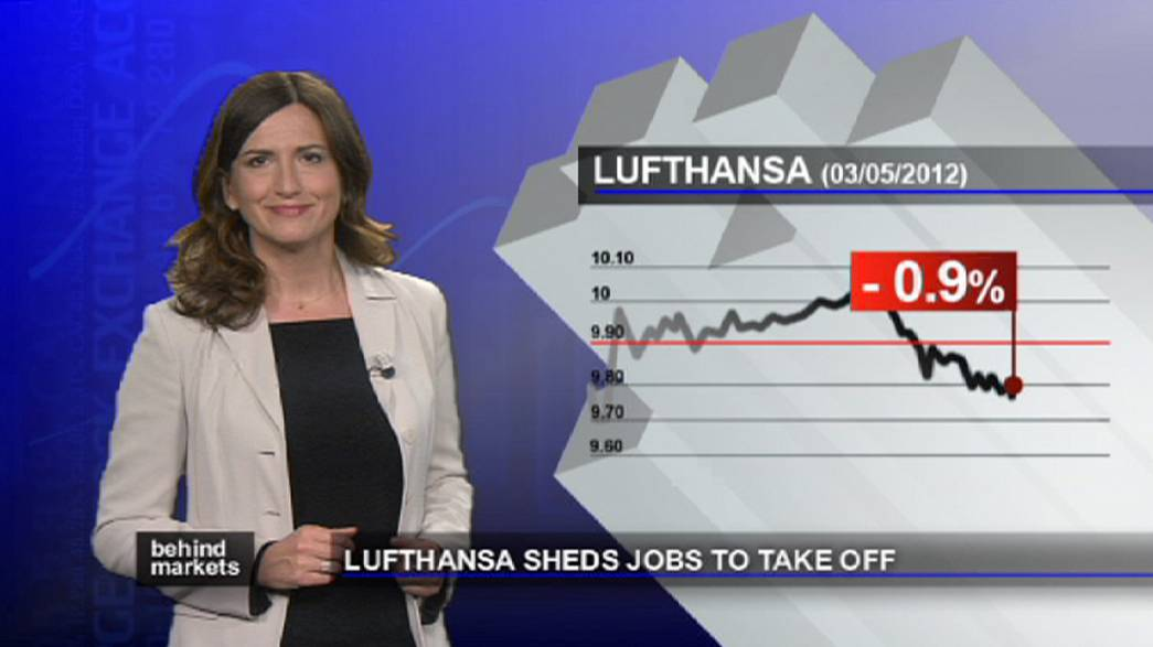 Lufthansa despede para voltar aos lucros