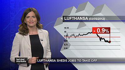 Flügellahmer Kranich - Lufthansa streicht Stellen