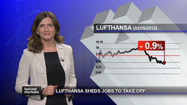 Lufthansa licenzia per tornare all'utile