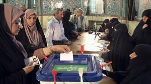 Iranians vote in parliamentary election run-off