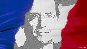 Hollande becomes first socialist French leader for 17 years