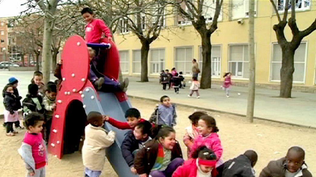 Helping migrant children find their feet