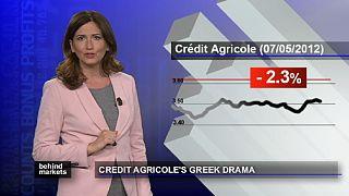 Crédit Agricole rattrapé par la crise grecque