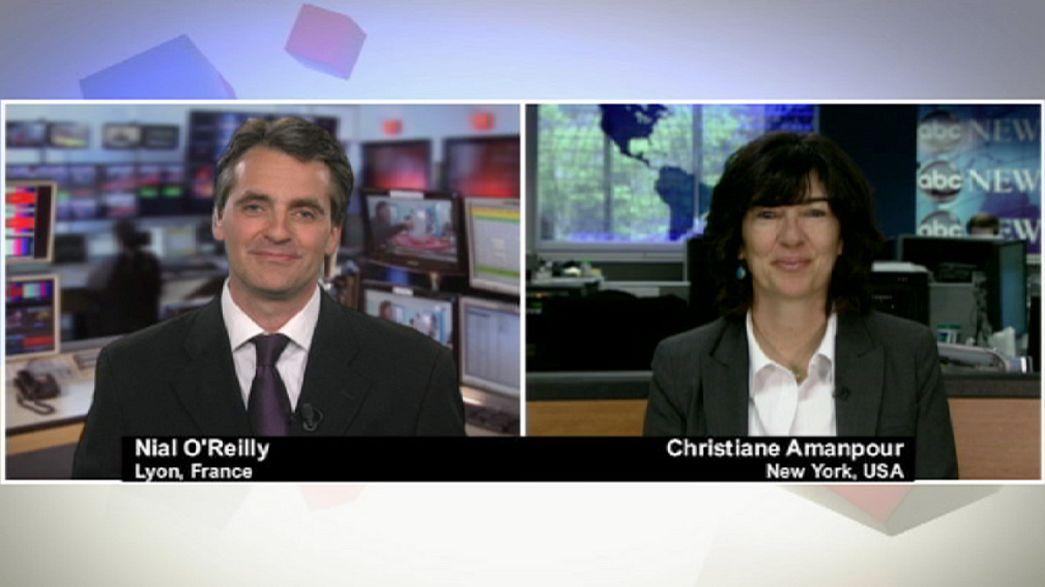 Christiane Amanpour: il futuro dei rapporti Francia-Usa