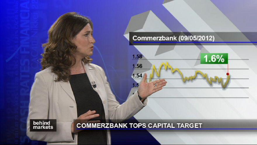 Commerzbank melhora saúde financeira e tranquiliza mercados