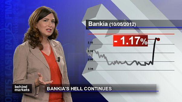 Bankia: continua la discesa in borsa