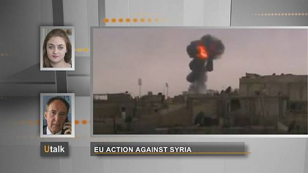 Intervenção europeia contra a Síria