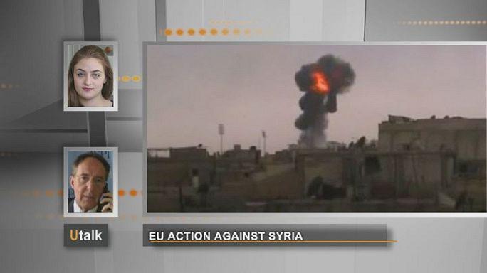 Quelles actions de l'Union européenne contre la Syrie?