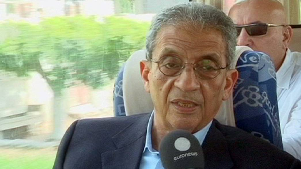Amro Musa quiere un nuevo Egipto