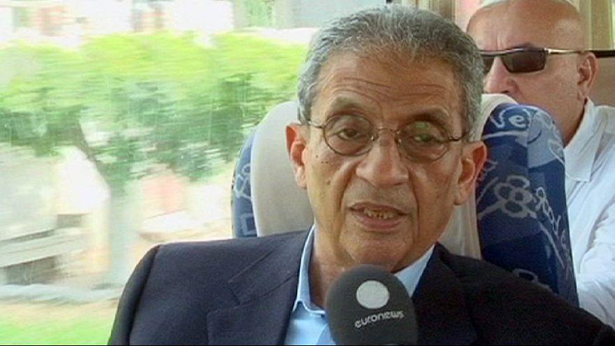 الإستطلاعات تمنح فوز عمرو موسى في الانتخابات الرئاسية المصرية