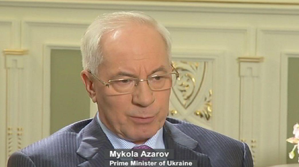"""Mykola Azarov: """"En Ucrania no hay dictadura ni represión política"""""""