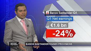 Santander leidet unter zusätzlichen Rückstellungen