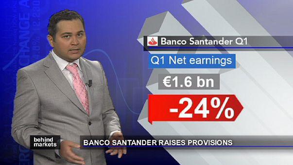 Cinco maiores bancos de Espanha reforçam reservas
