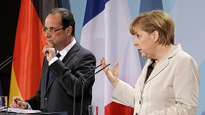 Hollande and Merkel put growth on the agenda