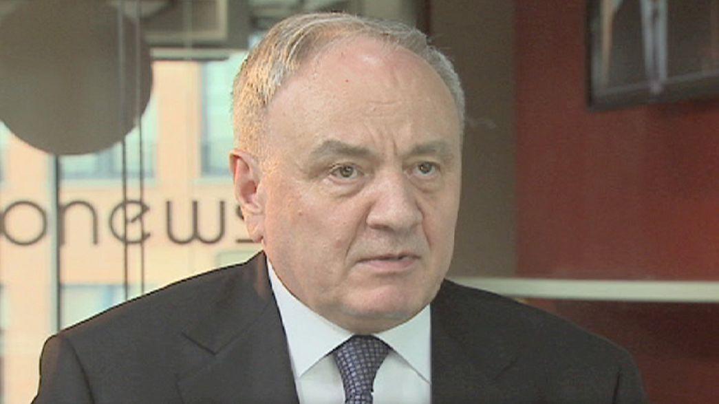 """Nicolae Timofti, presidente de Moldavia: """"Nuestra idea es la integración europea"""""""