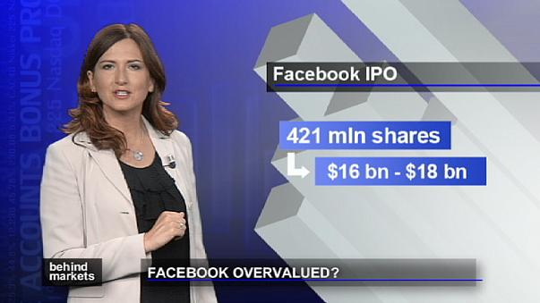Droht facebook durch den Börsengang die Überbewertung?