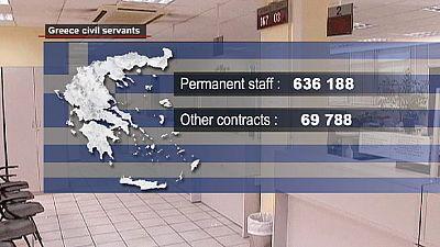 Grecia : impiegati pubblici e pensionati i più colpiti dall'austerità