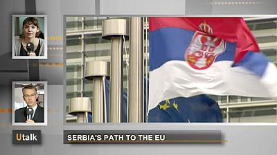 La route de la Serbie vers l'Europe