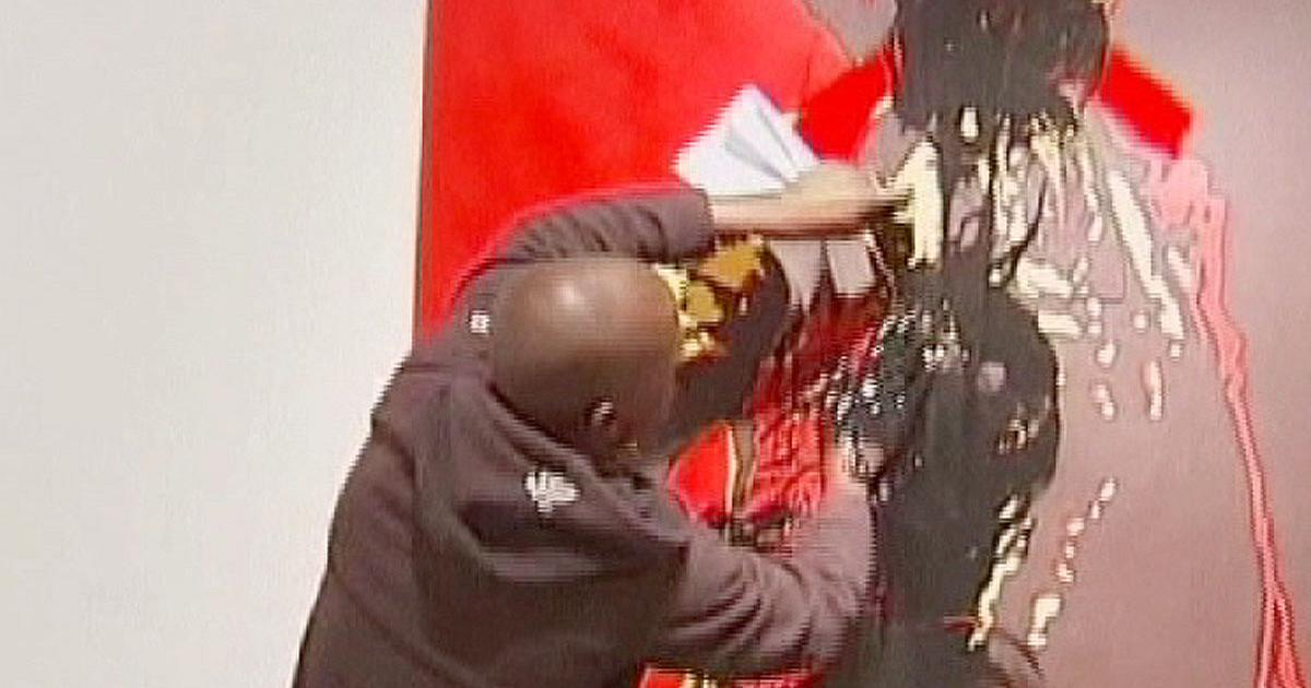 Zuma Painting Controversy Controversial Zuma Painting
