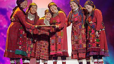 Grannies represent Russiaat Eurovision
