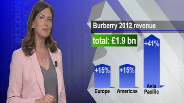 Burberry defies crisis