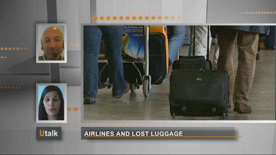Airline companies and lost luggage