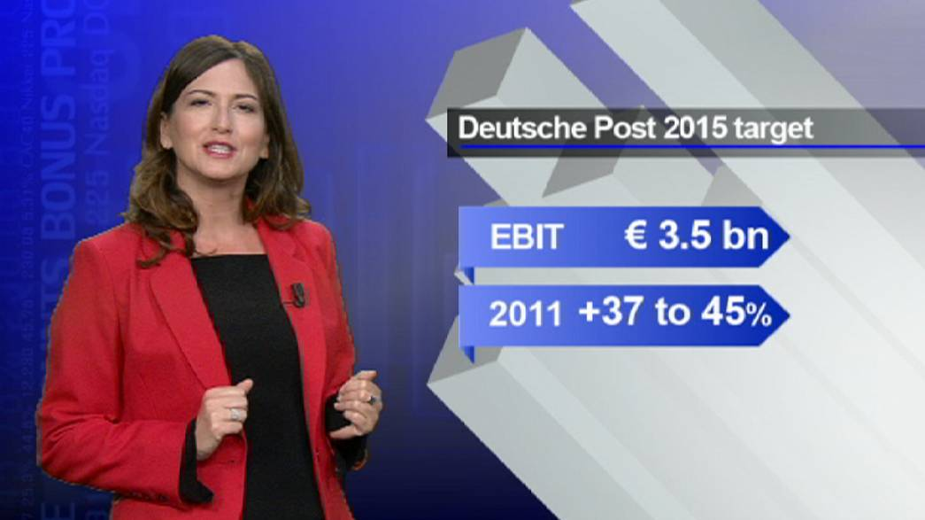 Deutsche Post delivers a higher share price