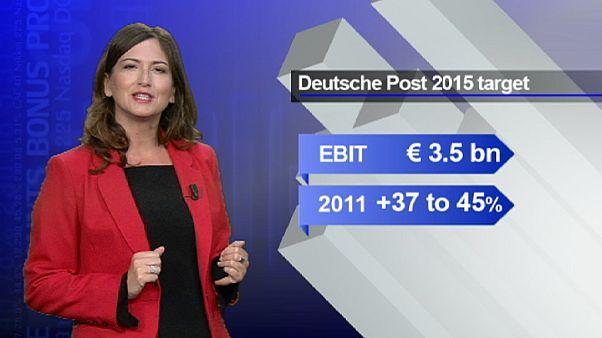 Deutsche Post delivers a higher share price