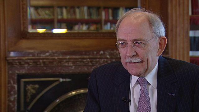 Сеес Маас, бывший главный казначей Нидерландов